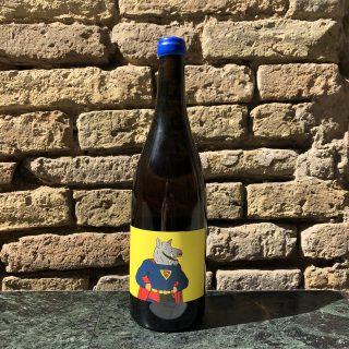 Bottiglia di vino naturale Super Singla